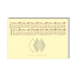 Calendario notas removibles